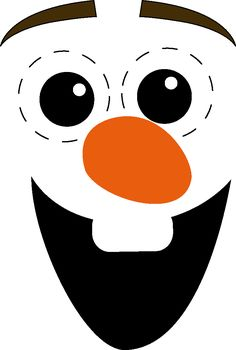 """A """"Olaf"""" quickly made yourself, Olaf Costume, Diy Halloween Costumes, Olaf Craft, Frozen Crafts, Quick And Easy Crafts, Diy Gifts For Kids, Sock Animals, Disney Crafts, Crochet Dishcloths"""
