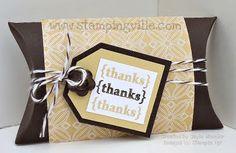 DIY tiolet paper party favor box