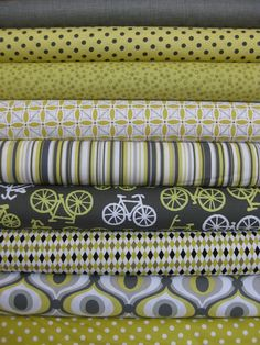 Citron Bundle from Fabricworm.  would look good as a boy quilt