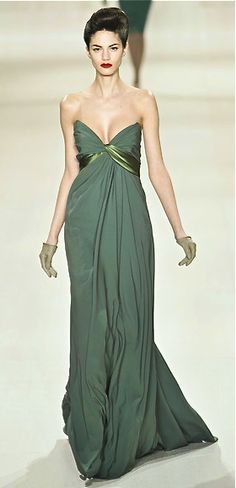 gorgeous green elie saab gown