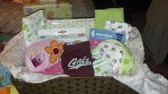 My gift basket to a mother to be