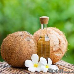 Làm đẹp da mặt sau sinh với dầu dừa