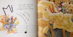 """""""Lluvia de sonidos y colores"""" un cuento para mayores de 5 años sobre flores, música y colores... #cuentoinfantil #Edelvives"""