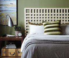 tete de lit a faire soi meme. Black Bedroom Furniture Sets. Home Design Ideas