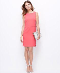 Rounded Hem Shift Dress | Ann Taylor
