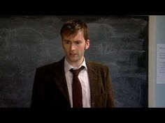 lmao Donna's messing with the Doctor ^_^  Lauren Cooper and Doctor Who clash in class - Classic Comic Relief