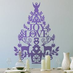 Wall Christmas Tree - Alternative Christmas Tree Ideas_51
