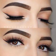 double-winged liner - Bella Torres (@bellamakeup_) eyeliner eye makeup