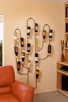 Cactus Wine Rack by Klineworks