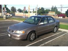 1998 TOYOTA COROLLA ~ Mine was white.  The very best car I ever owned. Damn I miss her.