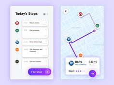 Today's prompt: Map. The idea behind this one was to take a day's errands, and be able to plan which stores to go to first, second, etc., depending on the drive time and distance. The user would in...