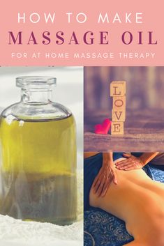 Whether you want a sensual massage or need to do massage therapy at home, homemade massage oil is easy to make. And you control the scents. Here is a basic massage oil recipe and recommendations for essential oils. Lotion Recipe, Oil Recipe, Massage Lotion, Diy Massage Oils, Technique Massage, Love Massage, Essential Oils For Massage, Massage Therapy, Eft Tapping