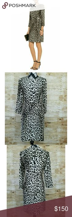 "🌞SALE NWT Rag & Bone Short Leopard Silk Dress Women's Rag and Bone Sheath Dress  Sz 4  100% silk  Lined  Side zipper  Open Back with button  NWT: Retail price: $595   Measurements laying flat:  Shoulder to shoulder: 16""  Underarm to underarm: 17.5""  Waist: 14.5""  Length: 37.5"" rag & bone Dresses"