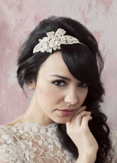 Diademas de novia vintage