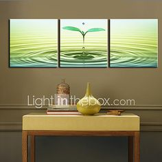 Botanical Canvas Print Other Artists Stretched Canvas Print/Canvas Set Three Panels Ready to Hang. Get wonderful discounts up to at Light in the box using Coupon and Promo Codes. Landscape Prints, Panel Art, Paintings I Love, Stretched Canvas Prints, Blue Flowers, Living Room Decor, Canvas Art, Wall Decor, Art Prints
