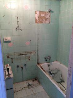 Corner Bathtub, Ideas Para, Sweet Home, My House, Arts And Crafts, New Homes, Shower, Cool Stuff, Bathroom