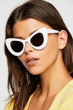 68bec312a3 Slide View 2  Pasadena Cateye Sunglasses Sunnies Sunglasses