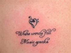 love this quote and the heart  makes a cute tattoo