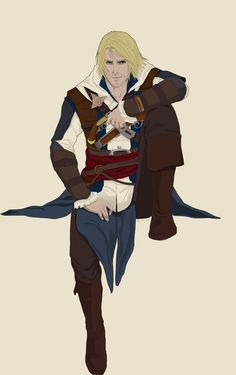 practicing again in Edward Kenway Assasing Creed, All Assassin's Creed, Assassins Creed Black Flag, Assassins Creed Series, Assassin's Creed Edward Kenway, Character Art, Video Game, Fan Art, The Skulls