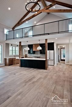 How gorgeous is this custom farmhouse by 🙌🏼 Have yo. by Haley Davis Team REALTOR® Dream House Interior, Dream Home Design, My Dream Home, Barn House Design, Pole Barn House Plans, Dream House Plans, Metal Building Homes, Building A House, Casas Country