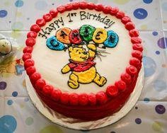 Winnie the Pooh Cake   www.lahootbakery.com