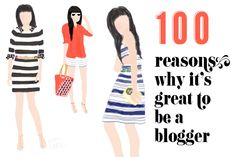 100 reasons why it is great to be fashion blogger
