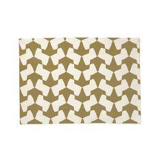 Bronze Origami Placemat - Pehr Designs