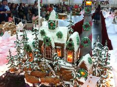Salt Lake City Festival of Trees Gingerbread Creations 2012