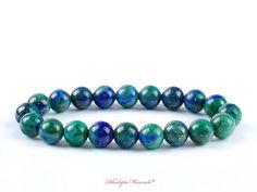Wholesale 4 pcs 8 mm Un Grade amenthyst Ronde Pierres Précieuses Perles Extensible Bracelet
