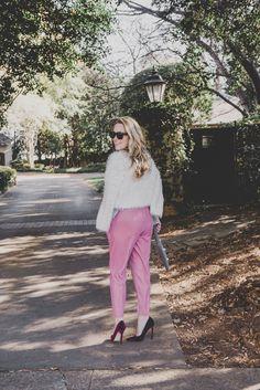 Velvet pants for the holidays!
