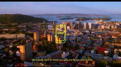 N?r problemene er st?rst er Oslo n?rmest De ble reddet til Oslo - som laget ?rets beste reisereklamefilm