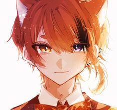 #すとぷりギャラリー - Twitter検索 / Twitter Anime Cat Boy, Neko Boy, Anime Wolf, Anime Neko, Anime Guys, Anime Art, Drawing Fist, Animal Crossing Cats, Lobo Anime