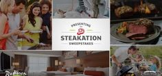 There are 5 grand prizes of 12 Omaha Steaks Officer's Collection certificates and 15 weekly prizes 3 awarded every week of a Radisson eCertificate valid for a one night stay. To view the webpage click Here