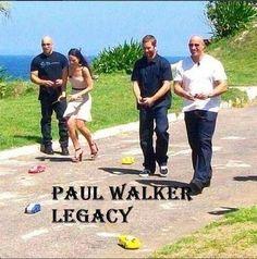 Vin Diesel, Jordana Brewster, Paul Walker & Dwayne Johnson