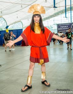 Emperor Kuzco from Emperor's New Groove at SDCC 2014