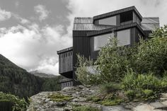 Photo 3 of 9 in A Dramatic Hotel in Northern Italy Is a Hiker's Refuge - Dwell