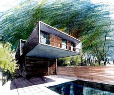 Lápices... #bocetos #sketches #arquitectura