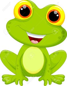 Illustration about Illustration of Cute frog cartoon. Illustration of beautiful, leapfrog, cute - 61377227 Art Drawings For Kids, Drawing For Kids, Animal Drawings, Easy Drawings, Art For Kids, Cartoon Cartoon, Frosch Illustration, Frog Drawing, Afrique Art
