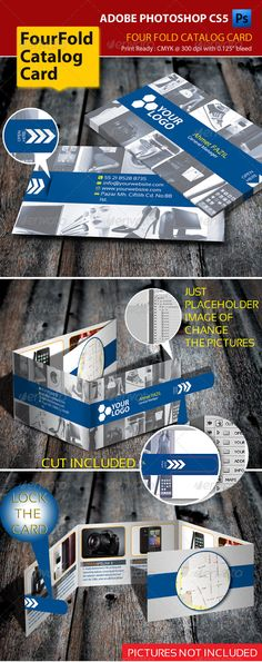 4 Fold Brochure Alpha Series Brochures Brochure Template And