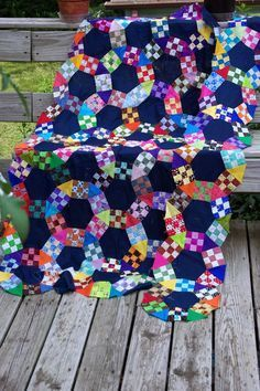 JACK'S CHAIN QUILT - one of my favorite patchwork patterns