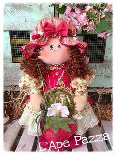 Cartamodelli Bambole primavera 2016 : Cartamodello Tata Carola