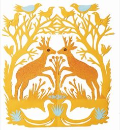 Mark Hearld's Work Book Paper Cutting, Cut Paper, Paper Art, Paper Crafts, Glasgow School Of Art, Back To Nature, Watercolor Cards, Christmas Art, Traditional Art