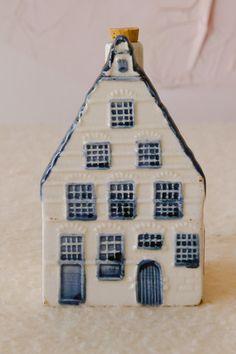 Miniature Delft Blue House   eBay