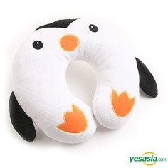 Cozy Neck Cushion - Penguin