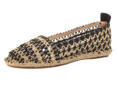 Tendencia: crochet en los zapatos alpargata