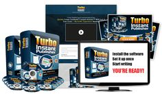 Grab RESALE RIGHTS To This UNIQUE 'Turbo Instant Publisher' Software Business '(At A Massive Discount)' Along With My Crazy Bonuses!