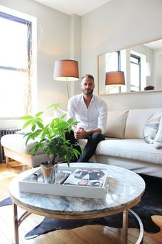 House Tour: A Streamlined Apartment in Hell's Kitchen | Apartment Therapy