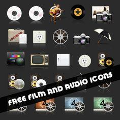 free-film-audio-icons