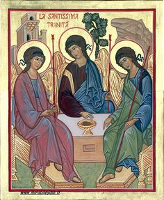 The Holy Trinity by Christina Capella
