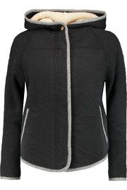 Marc by Marc Jacobs Quilted cotton-blend hooded jacket